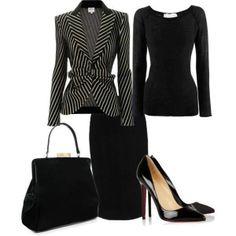 Very stylish office wear!