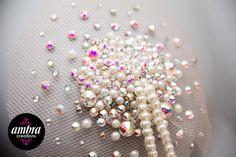 Pearl and swarovski burlesque pasties  https://www.facebook.com/AmbraCreations?fref=photo