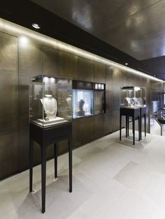 Bucherer store by Blocher Blocher Partners, St.Moritz Switzerland jewellry