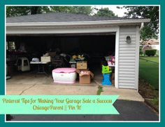Tips to help Chicago parents have a successful garage sale