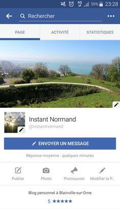 https://www.facebook.com/instantnormand/   Page Facebook créée pour partager des photos de la Normandie
