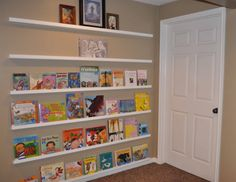 Children's Learning Activities: Face-Out Bookshelves Tutorial