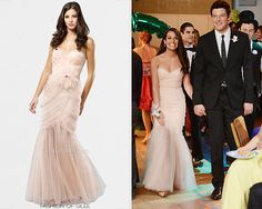 Inspired by Glee prom for Entourage Gown