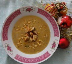 Jak uvařit tradiční vánoční polévky | recepty Cheeseburger Chowder, Soup, Ethnic Recipes, Soups