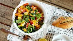FoodLover: Salát z grilovaných paprik Feta, Ethnic Recipes, Red Peppers