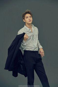 Kim Jae Joong para Harper's Bazaar Japón Junio 2017