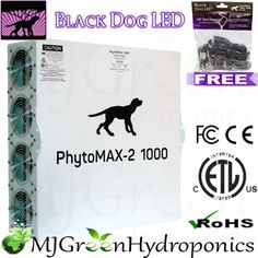 Black Dog Led Phytomax 2 1000w Full Spectrum Grow Light 1050w Osram