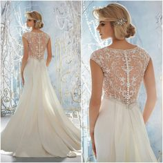 Beaded Wedding Dress, Top Beading