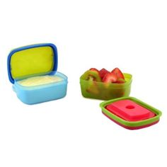 Fit & Fresh Kids' Soft Touch Lid 1/2 Cup Chilled Containers