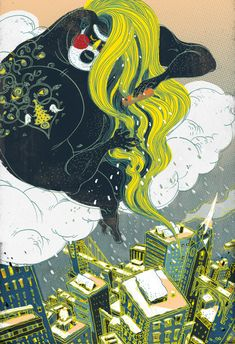 Victo Ngai is a brilliant illustrator from Hong Kong, now based in New York. She graduated from Rhode Island School of Design majoring in illustration. She worked for well-known brand such as McDonalds, Adidas or The New York Times. Discover more works on her portfolio, her Behance or her Facebook page.