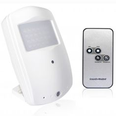 Hidden Camera | 720P High Definition Covert Night Vision PIR Camera-with Remote Control HD028