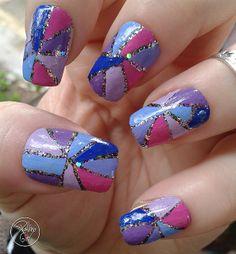 Pallino girl #nail #nails #nailart