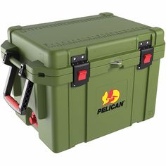 Pelican 35 Quart ProGear Elite Cooler Olive Drab Green 7-10 Days Ice Retention #Pelican