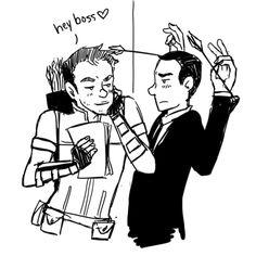 Agent Coulson appreciation~Hawkeye~