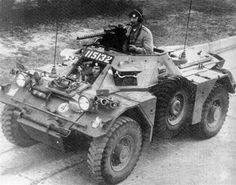 ferret afv - Like the idea of two spares mounted either side and the side tires drop below the frame by 4 inches or so as protection from grounding out  good Idea for bug out buggy or a fighting vehicle.