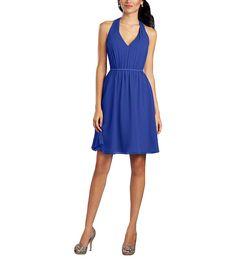 DescriptionAlfred Angelo Style 7333SCocktaillength bridesmaid dressDraped…
