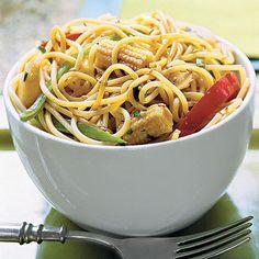 Sweet-Hot Asian Noodle Bowl Recipe | Key Ingredient