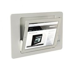 iRoom inbouw iDock glas iPad Air