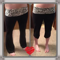 Animal Print Yoga Pants & Capris Bundle!  Lowest Cute and lightweight for spring!  These yoga pants and capris are in excellent used condition and from a smoke and pet free home. They are a juniors size large but fit a bit snug so I'd say closer to a medium in juniors or small in ladies.  Eye candy Pants
