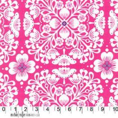 Michael Miller House Designer - Mod Prints - Pippa in Pink
