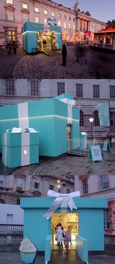 Tiffany & Co. // The Tiffany Tuck Shop // London