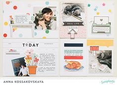 August 2016 Project Life | Scraptastic Club using August 2016 This Life Noted Kit + add-on @akossakovskaya @scraptasticclub #scraptasticclub #scraptastic #thislifenoted #projectlife #projectlife2016
