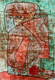Paul Klee - Egyptian Woman