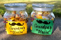 """Make a  Candy """"Stache"""" for Fathers day."""