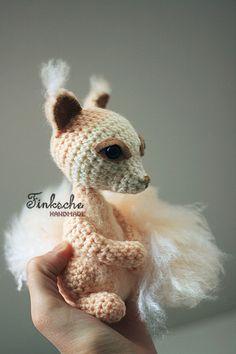Crochet plushie creature