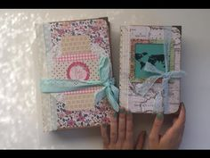 Custom Journals Share - Flip Through - Baby And Travel Themed - YouTube