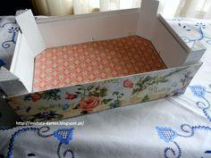 Reciclando caixas de morangos!