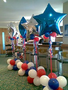 """......preparing for """"4th of July"""" theme night !!! www.everyspecialmoment.com.au"""