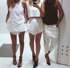 White on White is everything *middle outfit