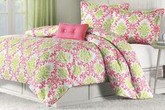 Katelyn Coral Teen Comforter Set Size: Full/Queen Mi-Zone http://www.amazon.com/dp/B0084B9TRM/ref=cm_sw_r_pi_dp_BA8uvb00E4A2F