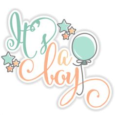 It's a Boy title: Miss Kate Cuttables-- SVG cut files for scrapbooking cherry svg cut files free svgs free svg cuts cute cut files silhouette cricut