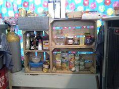 Despensa caixa de fruta. #bricopal
