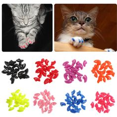 Soft Cat Nail Caps with Glue & Applicator Buy 1 Take 1 Promo