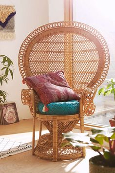 Detendre Peacock Chair - Urban Outfitters $498