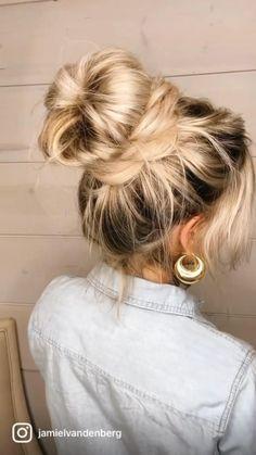 Hairdo For Long Hair, Hair Due, Long Wavy Hair, Hair Upstyles, Glamorous Hair, Good Hair Day, Hair Today, Hair Videos, Gorgeous Hair