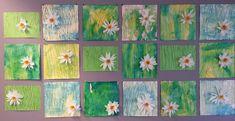 Luokkamme seinää koristaa keväiset narsissit. Idea on monen idean summa. Ideoita on löytynyt pinterestistä, facebookista ja työtovereilta. H...
