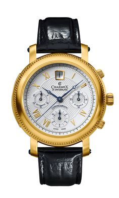 The JUBILÉ CHRONOGRAPH by Charmex of Switzerland™; luxury Swiss Made wrist watches on the official Charmex of Switzerland™ website Art Case, Chronograph, Watches, Luxury, Switzerland, Model, Accessories, Collection, Wristwatches