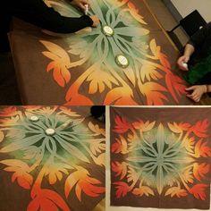#hawaiianquilt #handdyedfabric #handdyed #하와이안퀼트 #머스트의하와이안퀼트클럽 #mustfabric #머스트손염색원단 #handmade #must fabric #ハワイアンキルト #ハワイアンキルト教室 #ハンドメード #手染め #mustキルト教室 #머스트의퀼트교일