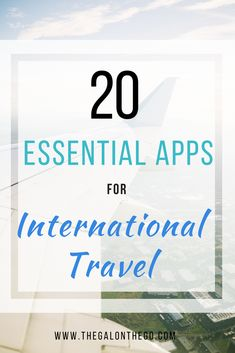20 Essential Apps For International Travel - The Gal On The Go Travel Insurance Showdown! World Nomads vs Safetywing Best Travel Apps, Ways To Travel, Travel Items, Travel Gadgets, Travel Hacks, Budget Travel, Travel Products, Best Travel Insurance, Insurance Business