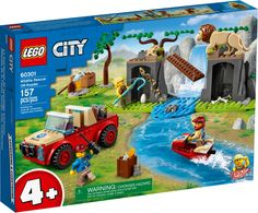 City Zoo, Lego City Sets, New Set, Polar Bear, Lions, Animal Rescue, Arcade, Underwater, Wildlife