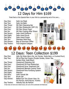 12 days of Christmas is soooo FUN! Especially for the loved one in your life that supports & loves you ALL year long!!!! Call/Text 302-388-5664 me I'll be your personal holiday shopper:)! www.marykay.com/brookeramsey
