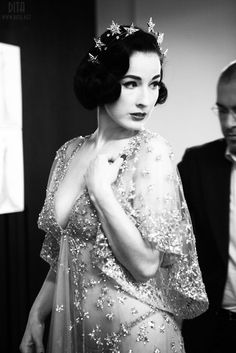 Dita gorgeous seethrough dress