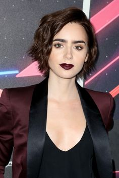 Lily Collins Ditches Her Pixie Cut For Waist-Length Hair
