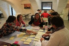 This photo is taken at our first Ynnovators Event in June 2012. All Ynnovators are constantly stimulated to design solutions for their own innovation barriers. It brings me so much energy to work together with such enthusiastic people.