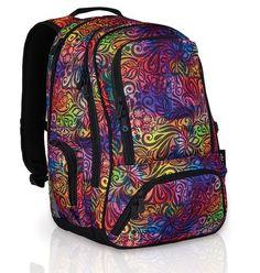 Školní batohy a aktovky   Topgal   Studentský batoh do školy Topgal HIT 823 I - Violet   AMATA - hračky a výtvarné potřeby