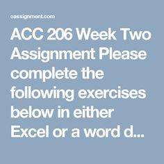 acc 206 week 7 homework chapter Acc 206 week 1 homework chapter 10  acc 206 week 1 homework chapter 10 - strayer latest, acc 206 week  strayer university new, acc 206.